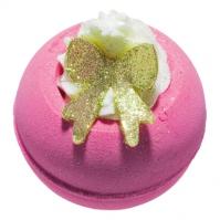Bomb Cosmetics - Razzle-berry - Musująca kula do kąpieli - MALINKA