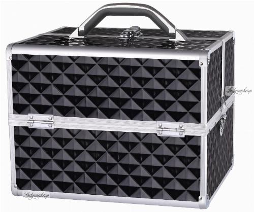 LOVETO.PL - Kufer kosmetyczny - BLACK DIAMOND 3D