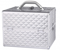 LOVETO.PL - Makeup Box - SILVER DIAMOND 3D