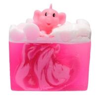 Bomb Cosmetics - Pink Elephants & Lemonade Soap Slice - Mydło glicerynowe - RÓŻOWY SŁONIK z mandarynką