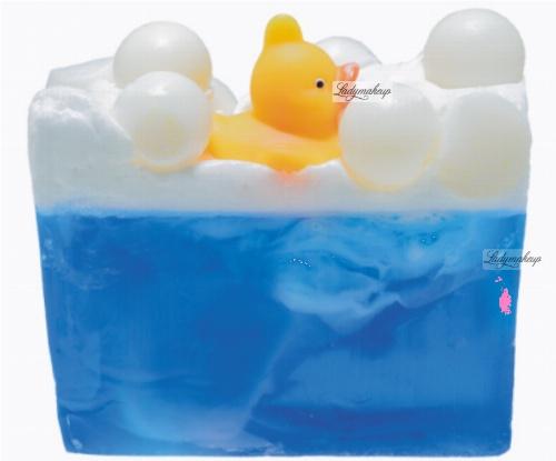 Bomb Cosmetics - Pool Party Soap Slice - Mydło glicerynowe - KACZUSZKA z lawendą