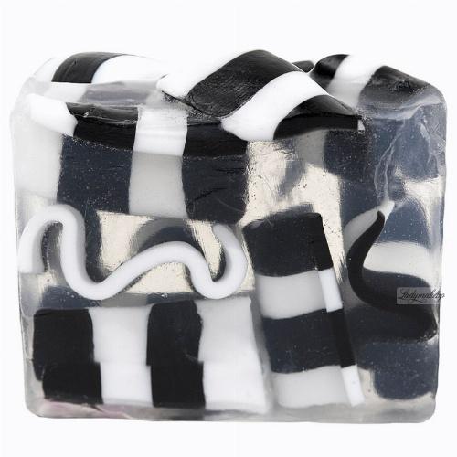 Bomb Cosmetics - Clean Getaway Soap Slice - Mydło glicerynowe - SZACH-MAT z czarnym pieprzem