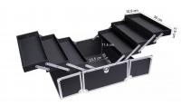 LOVETO.PL - Make-up box - BLACK CROC