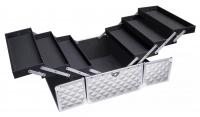 LOVETO.PL - Kufer kosmetyczny - SILVER DIAMOND 3D