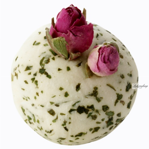 Bomb Cosmetics - Less Stress Bath Creamer - Creamy bath ball