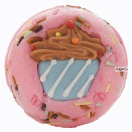 Bomb Cosmetics - Cute as Cupcakes Bath Creamer - Maślana, kremowa kuleczka do kąpieli - CIACHO