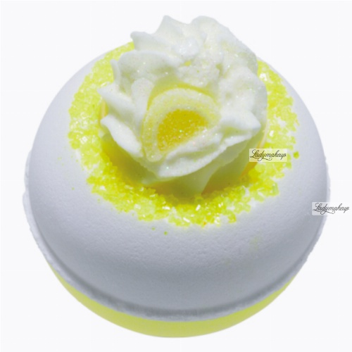 Bomb Cosmetics - Lemon Da Vida Loca - Musująca kula do kąpieli - LEMON