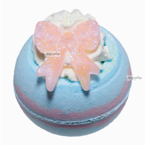 Bomb Cosmetics - Baby Shower - Musująca kula do kąpieli - PĘPKOWE