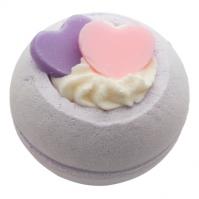 Bomb Cosmetics - Two Hearts - Musująca kula do kąpieli - DWA SERCA