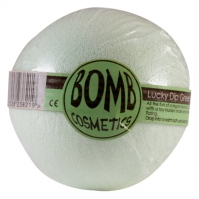Bomb Cosmetics - Lucky Dip Green - Musująca kula do kąpieli - SZCZĘŚLIWY TRAF