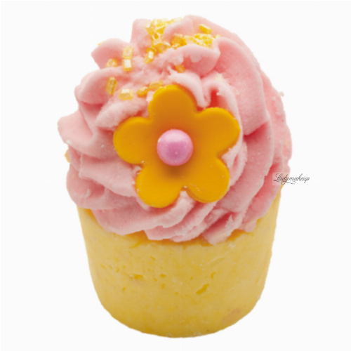 Bomb Cosmetics - Mango & Vanilla - Moisturizing Bath Bun