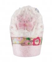 Bomb Cosmetics - TOP CAT - Kremowa, nawilżająca babeczka do kąpieli - MANDARYNKOWY KOT