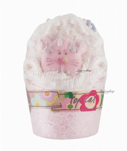 Bomb Cosmetics - TOP CAT - Moisturizing bath muffle - Mandarin cat