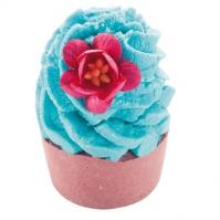 Bomb Cosmetics - Chai High - Kremowa, nawilżająca babeczka do kąpieli - HERBACIANA