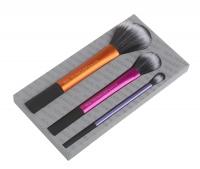Real Techniques - Duo-fiber collection - Zestaw 3 pędzli - 01414M