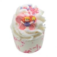 Bomb Cosmetics - Fairy Whispers - Kremowa, nawilżająca babeczka do kąpieli - CZAR ZAKLĘCIA