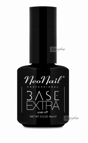 NeoNail - BASE EXTRA SOAK-OFF - 14 ml - Lakier hybrydowy UV - 4478