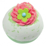 Bomb Cosmetics - Apple & Raspberry Swirl - Sparkling bath ball