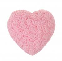 LaQ - Happy Soaps - Naturalne mydełko glicerynowe - WIELKIE RÓŻOWE SERCE