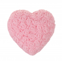 LaQ - Happy Soaps - Natural Glycerin Soap - LARGE PINK HEART