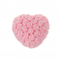 LaQ - Happy Soaps - Natural Glycerin Soap - PINK HEART