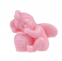 LaQ - Happy Soaps - Natural Glycerine Soap - PINK BABY