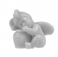 LaQ - Happy Soaps - Natural Glycerin Soap - GRAY BABY