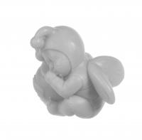 LaQ - Happy Soaps - Naturalne mydełko glicerynowe - SZARY BOBAS Z DZBANKIEM MIODU