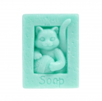 LaQ - Happy Soaps - Natural Glycerin Soap - GREEN CAT