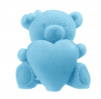 LaQ - Happy Soaps - Natural Glycerin Soap - BLUE TEDDY BEAR