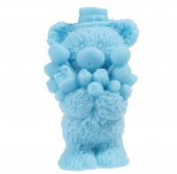 LaQ - Happy Soaps - Natural Glycerin Soap - BLUE TEDDY BEAR
