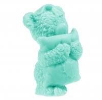 LaQ - Happy Soaps - Naturalne mydełko glicerynowe - ZIELONY MIŚ Z PODUSZKĄ