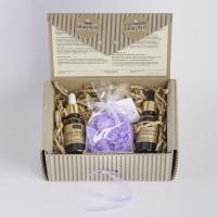 LaQ - Zestaw naturalnych kosmetyków - Kwas hialuronowy, Olej z owoców dzikiej róży + Glicerynowe mydełko gratis!