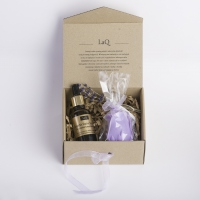LaQ - Natural Cosmetics Set - Cannabis oil + Glycerin soap free!