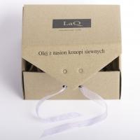 LaQ - Zestaw naturalnych kosmetyków - Olej z konopi siewnych + Mydełko glicerynowe gratis!