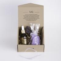 LaQ - Zestaw naturalnych kosmetyków - Kwas hialuronowy + Mydełko glicerynowe gratis!