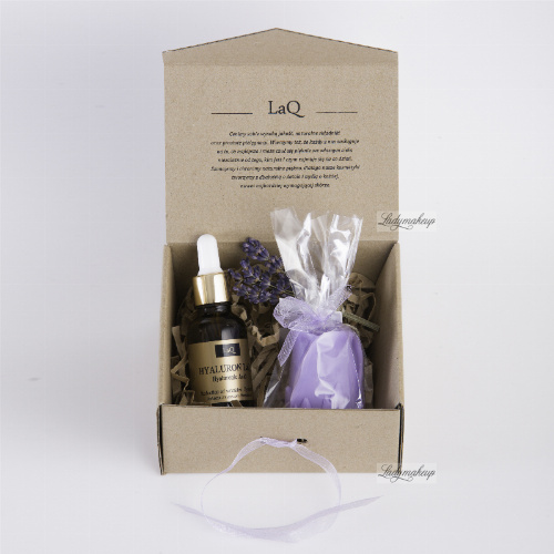 LaQ - Set of natural cosmetics - Hyaluronic Acid + Glycerin soap!