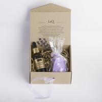 LaQ - Zestaw naturalnych kosmetyków - Olej z pestek śliwki + Mydełko glicerynowe gratis!