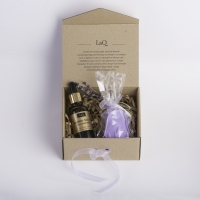 LaQ - Set of natural cosmetics - Raspberry seed oil + FREE Glycerin soap