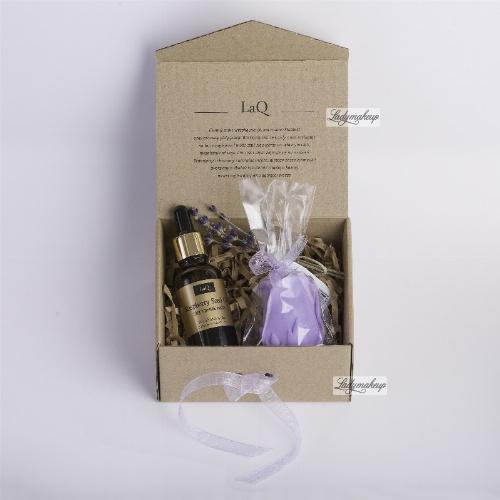 LaQ - Zestaw naturalnych kosmetyków - Olej z pestek malin + Mydełko glicerynowe gratis!