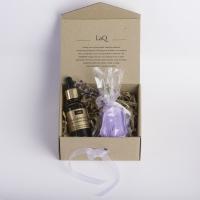 LaQ - Zestaw naturalnych kosmetyków - Olej z owoców dzikiej róży + Mydełko glicerynowe gratis!