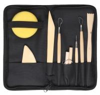 KRYOLAN - MODELING TOOL BOX - Zestaw narzędzi modelarskich w piórniku - ART. 60337/00