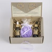 LaQ - Zestaw naturalnych kosmetyków - Kwas hialuronowy, Olej z pestek arbuza + Mydełko glicerynowe gratis!