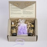 LaQ - Zestaw naturalnych kosmetyków - Kwas hialuronowy, Olej z pestek śliwki + Mydełko glicerynowe gratis!