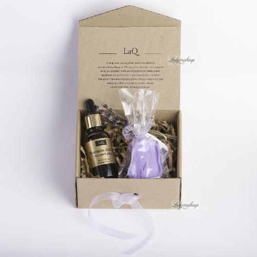 LaQ - Zestaw naturalnych kosmetyków - Olej z pestek arbuza + Mydełko glicerynowe gratis!