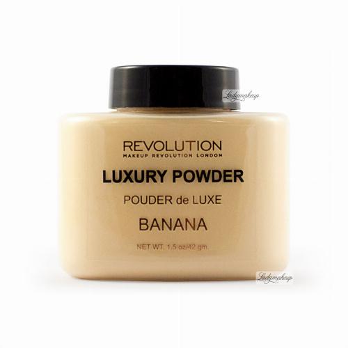 MAKEUP REVOLUTION - Luxury Banana Powder - Sypki puder bananowy