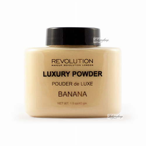 MAKEUP REVOLUTION - Luxury Banana Powder - Sypki puder bananowy