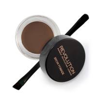 MAKEUP REVOLUTION - Brow Pomade - Pomada do brwi - DARK BROWN - DARK BROWN