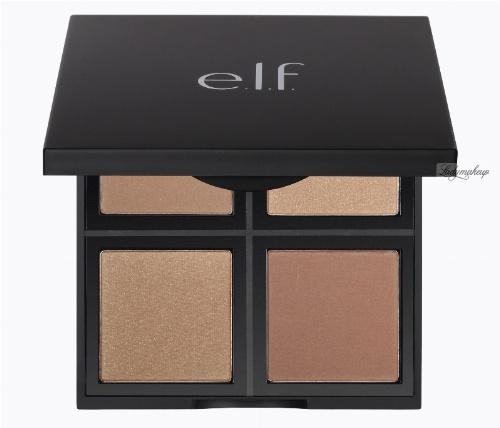 ELF - Bronzer Palette - Pudrowa paleta bronzerów do twarzy - 83319