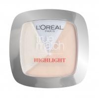 L'Oréal - True Match HIGHLIGHT - 2 in 1 Powder Glow Illuminator - 302 ICY GLOW - Rozświetlacz